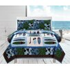 Luxury Home Surfs Up 3 Piece Quilt Set