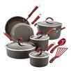 Rachael Ray Cucina Hard-Anodized Nonstick 12 Piece Cookware Set