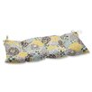 Pillow Perfect Full Bloom Outdoor Loveseat Cushion