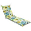 Pillow Perfect Floral Fantasy Outdoor Chaise Lounge Cushion