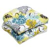 Pillow Perfect Floral Fantasy Outdoor Dining Chair Cushion (Set of 2)