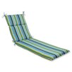 Pillow Perfect Topanga Outdoor Chaise Lounge Cushion