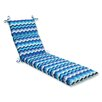 Pillow Perfect Panama Wave Outdoor Chaise Lounge Cushion