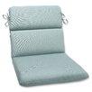 Pillow Perfect Canvas Outdoor Sunbrella Lounge Chair Cushion