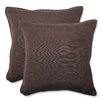 Pillow Perfect Forsyth Indoor/Outdoor Throw Pillow (Set of 2)
