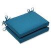 Pillow Perfect Spectrum Outdoor Sunbrella Dining Chair Cushion (Set of 2)