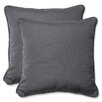 Pillow Perfect Indoor/Outdoor Sunbrella Throw Pillow (Set of 2)