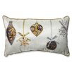 Pillow Perfect Holiday Ornaments Lumbar Pillow
