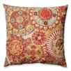 Pillow Perfect Indira Cardinal Cotton Throw Pillow