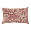 Pillow Perfect Fairhaven Damask Throw Pillow