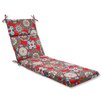 Pillow Perfect Cera Garden Outdoor Chaise Lounge Cushion