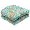 Pillow Perfect Bronwood Outdoor Dining Chair Cushion (Set of 2)