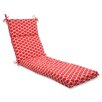 Pillow Perfect Sunny Outdoor Chaise Lounge Cushion