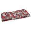 Pillow Perfect Cera Garden Outdoor Loveseat Cushion
