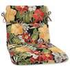 Pillow Perfect Clemens Noir Outdoor Chaise Lounge Cushion