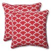 Pillow Perfect Sunny Indoor/Outdoor Throw Pillow (Set of 2)