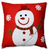 Pillow Perfect Snowman Throw Pillow