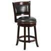 Flash Furniture 24'' Swivel Counter Height Stool with Cushion