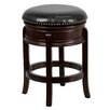 "Flash Furniture 24"" Swivel Bar Stool with Cushion"