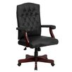 Flash Furniture Martha Washington Leather Office Swivel Chair