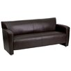 Flash Furniture Hercules Majesty Series Leather Sofa