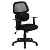 Flash Furniture Mid-Back Mesh Chair with Flexible Dual Lumbar Support
