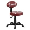 Flash Furniture Football Mid-Back Kid's Desk Chair