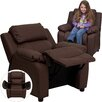 Flash Furniture Contemporary Kids Deluxe Recliner