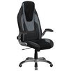 Flash Furniture High-Back Mesh Executive Chair with Flip Up Arms