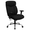 Flash Furniture Hercules Series High-Back Big and Tall Leather Executive Chair with Arms