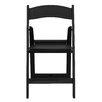 Flash Furniture Hercules Series Personalized Resin Folding Chair with Vinyl Padded Seat