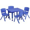 "Flash Furniture 24"" Square Classroom Table"