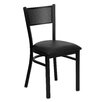 Flash Furniture Hercules Series Grid Back Side Chair