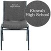 Flash Furniture Hercules Series Personalized Heavy Duty Stackable Guest Chair