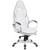 Flash Furniture High Back Vinyl Executive Swivel Chair with Trim