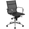 Flash Furniture Mid-Back Mesh Swivel Conference Chair with Synchro-Tilt Mechanism