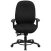 Flash Furniture Hercules Series High Back Swivel Chair with Foot Ring