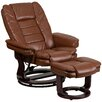 Flash Furniture Recliner and Ottoman