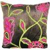 Design Accents LLC Cherry Blossom Velvet Throw Pillow