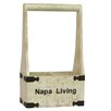 Antique Revival Napa Living 2 Bottle Wine Holder