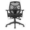 Antique Revival Baxter Mid-Back Mesh Task Chair with Arms