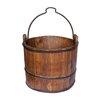 Antique Revival Vintage Iron Handle Water Bucket