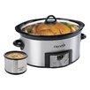 Crock-pot 6 Qt. Countdown Digital Slow Cooker with Little Dipper® Warmer