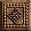 "Marazzi Romancing the Stone 2"" x 2"" Compressed Stone Renaissance Insert in Noce (Set of 3)"