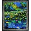 Tori Home Ledent - Pond 56 Framed, High Quality Print on Canvas