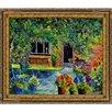 Tori Home Ledent - Courtyard 79 Framed, High Quality Print on Canvas
