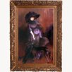 Tori Home Portrait of the Marchesa Luisa Casati with a Greyhound, 1908 by Giovanni Boldini Framed Painting Print
