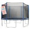 Upper Bounce 14' 31 Piece Round Trampoline Enclosure Set for 3/6 W Legs