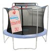 Upper Bounce 14' Trampoline Enclosure Safety Net Fits For 14 FT. Round Frames Using 4 Arches, with Sleeves on top (poles not included)
