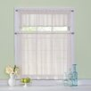 """Waverly Arm and Hammer Curtain Fresh Odor-Neutralizing 56"""" Valance and Tier Set"""